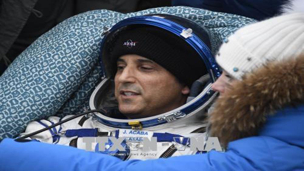Nhóm phi hành gia của Mỹ và Nga trở về từ Trạm ISS
